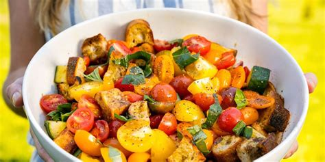 Kitchen Divided Vegan Dishes For Semi Vegan Households by Best Summer Panzanella Recipe How To Make Summer Panzanella