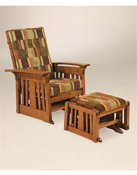 Handmade Furniture Usa - aj s amish furniture mccoy glider amish furniture direct usa