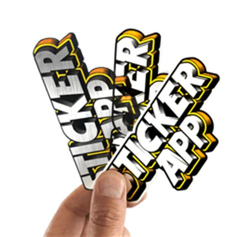 Sticker Erstellen Und Bestellen by Aufkleber Sticker Und Etiketten Drucken Stickerapp