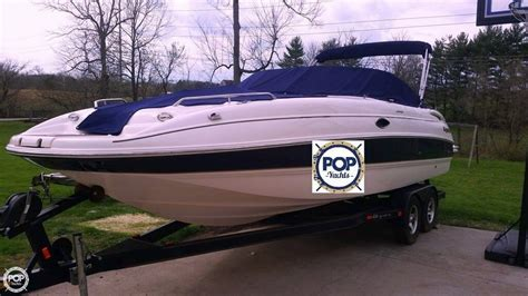 used tahoe boats in tennessee 2004 used bryant 234 deckboat deck boat for sale 26 500