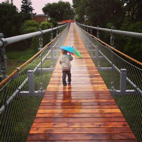 souris swinging bridge souris swinging bridge souris manitoba