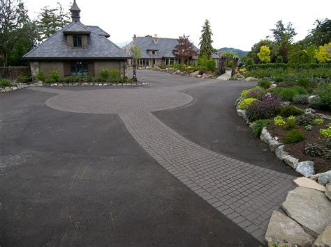 genuine sted asphalt driveways vancouver streetprint driveway contractor square one paving