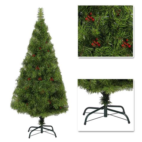 elegant artificial christmas tree boulder pine with berry