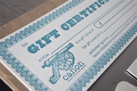 Restaurant Gift Cards Seattle - canon stationery pike street press