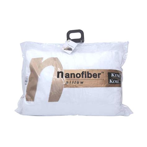 Bantal Hollow Fiber Americana bantal king koil nano fiber firm toko kasur bed murah simpati furniture