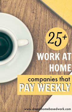 1000 ideas about work at home companies on