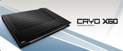 Nzxt Cryo X60 nzxt launches new laptop coolers 171 icrontic