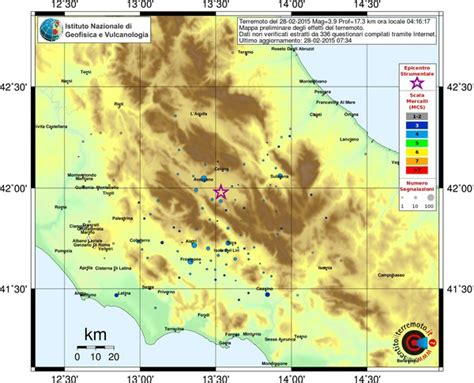 fucino frosinone terremoto magnitudo 3 9 in abruzzo scossa avvertita ad