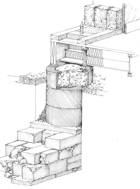 building foundation section eco tect eco house design and planning from michael howlett