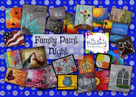 family paint nite island family paint studio the paint shack