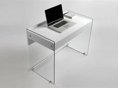 scrivania in vetro per ufficio mydesk scrivania per computer in vetro
