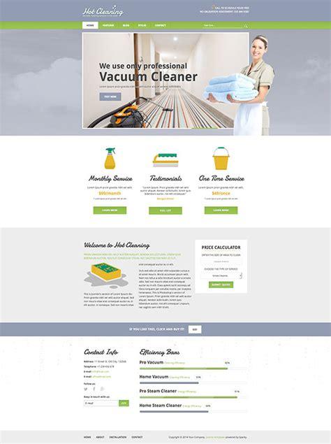 Clean Joomla Templates joomla cleaning template hotthemes