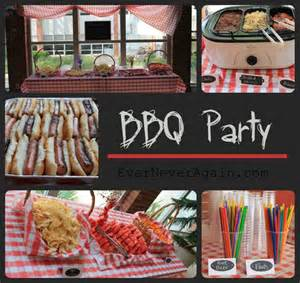 Gold Valance Ever Never Again Bbq Party