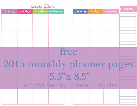 free printable weekly planner pages 2015 planner printable images gallery category page 9
