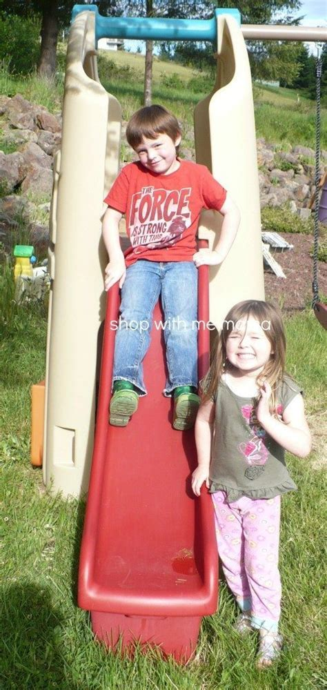 step2 naturally playful playhouse climber and swing step2 naturally playful 174 playhouse