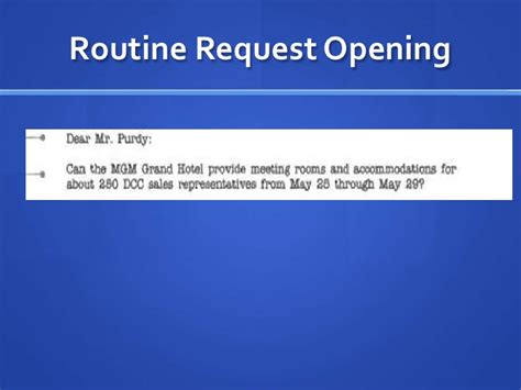 Routine Inquiry Letter Meaning Routine Request Letter Ii