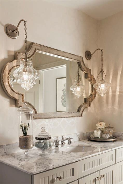 bathroom mirror with sconces bathroom lighting modern decorative unique messagenote