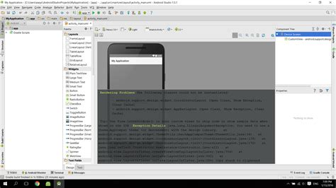 android studio layout rendering problems android studio 1 5 1 rendering problems stack overflow