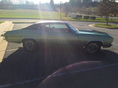 Matching For Sale 1970 Chevrolet Chevelle Ss 396 S Matching Fac A C