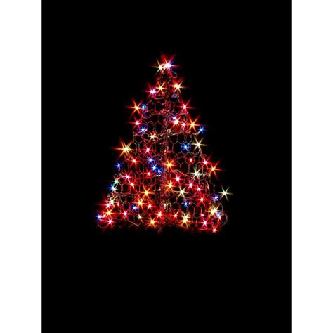 7 lighted christmas tree home accents holiday 6 ft pre lit led tree sculpture with
