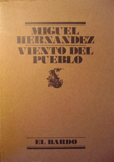 libro viento del pueblo el g 233 neros literarios on emaze