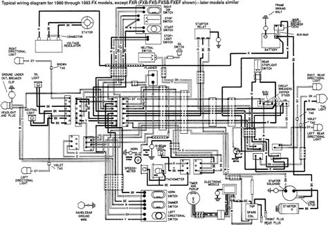1976 harley davidson fxe wiring diagram 1976 free engine