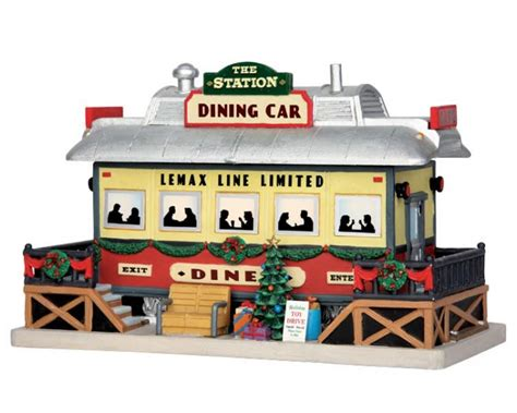 lemax village collection the station dining car 55975
