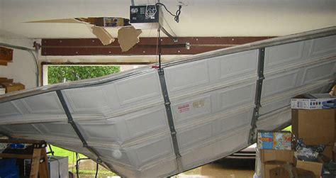 How To Fix Bent Garage Door Track by Garage Door Safety Is Nothing To Counter