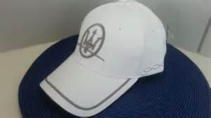 Maserati Hats Original Maserati Baseball Cap White 616 588 4264