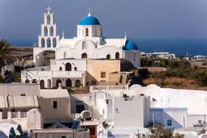 Mediterranean Style Houses Santorini Guide Climate Beach And Resort Info Plus Photos