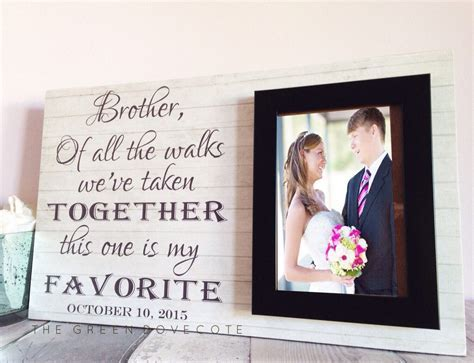 Pin by Julia Cullen on Wedding things   Brother wedding