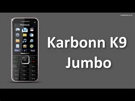 karbonn mobile themes download download best budget mobile karbonn k9 jumbo mobile price