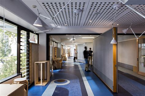 graphics design uq m3architecture adds pop art graphics to architecture college