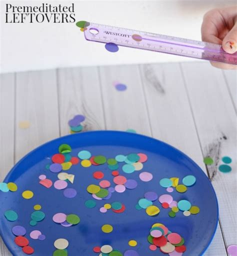 easy static electricity experiment for