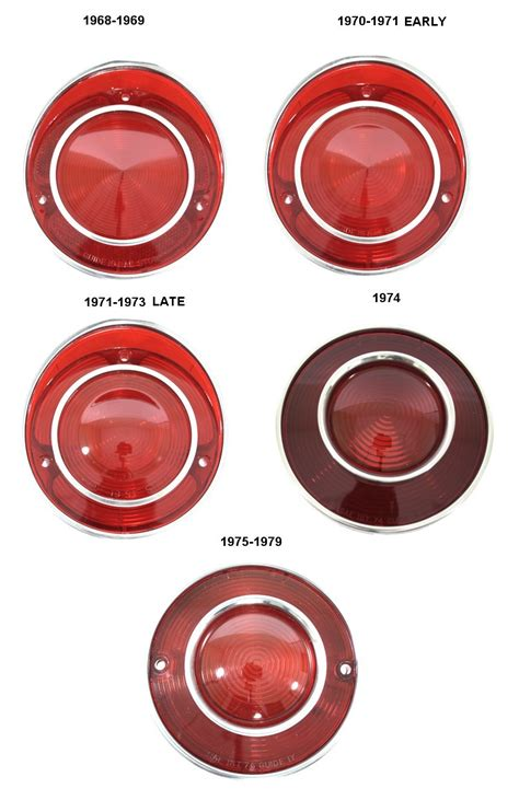 1968 1979 C3 Corvette Light Lenses Rpidesigns Com