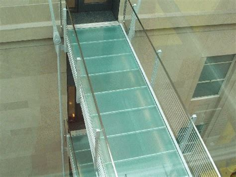 glass floor glass floors in st louis
