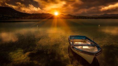 swan boats montreal mountain lake night hd wide wallpaper for widescreen 30