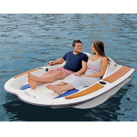 fan boat motor the electric motorboat hammacher schlemmer