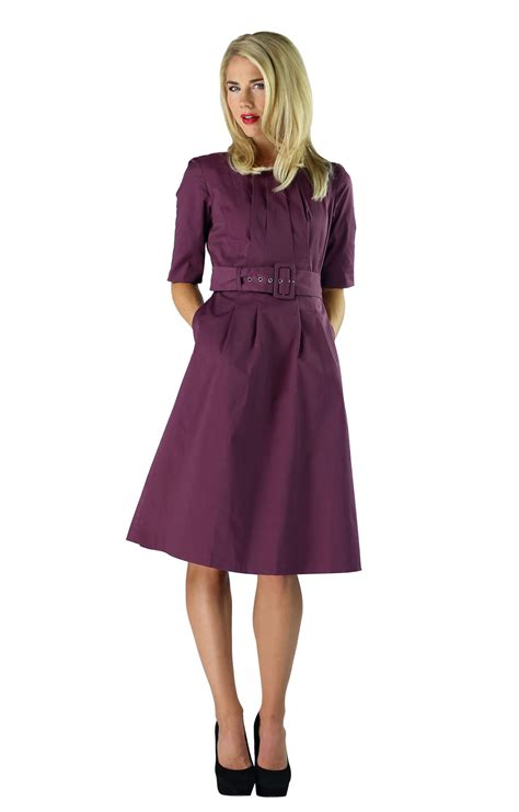 modest dresses modest dress in plum purple
