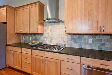 natural maple cabinets with caeserstone desert limestone 18 best backsplash images on pinterest kitchen