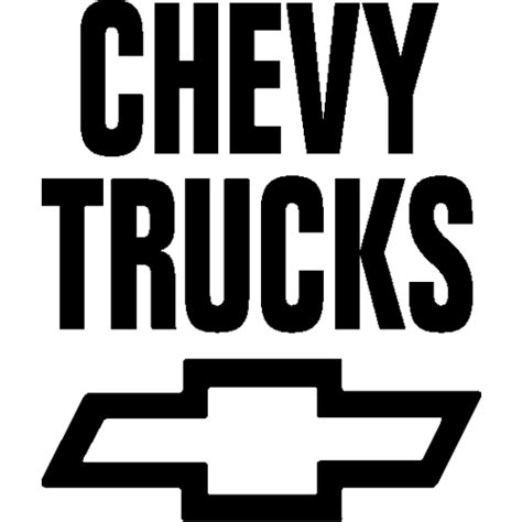 sticker et autocollant chevrolet chevy truck