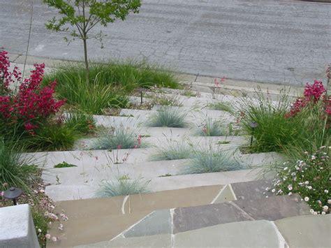 Cement Garden by Concrete Garden Steps