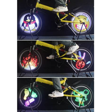 color changing wheels color changing bicycle wheel light