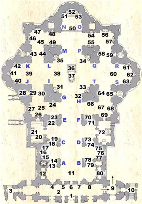 saint peter basilica architectural floor plan vatican city 1933 renaissance architecture st peter s basilica floorplan