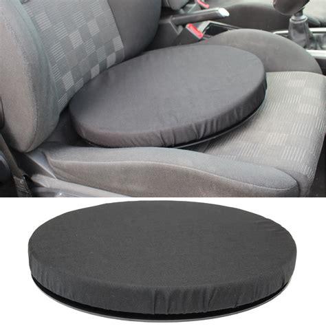 swivel chair for car black memory foam rotating seat chair swivel cushion chair