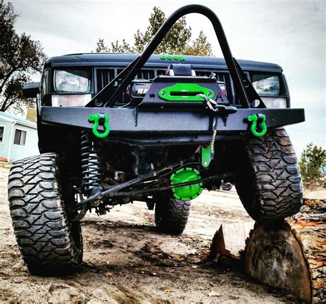 jeep cherokee stinger bumper elite stinger winch front bumper jeep cherokee xj comanche