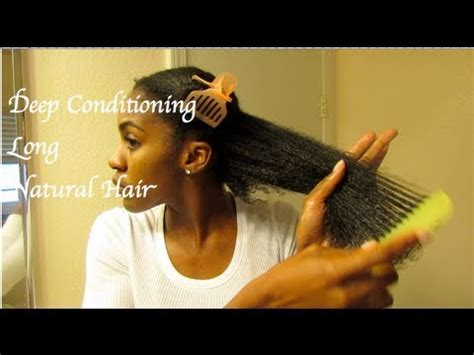 best deep conditioners for relaxed heads long hair care deep conditioning natural hair 4a b youtube