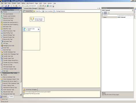 sql server 2008 foreach file enumerator is missing from list of enumerators in for each loop