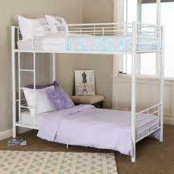 sunrise twin over twin bunk bed white bunk beds amp loft