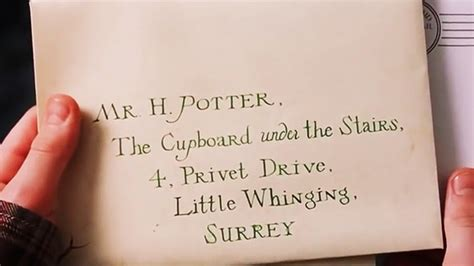 Harry Potter Acceptance Letter Quote Sparklife 187 A Much More Accurate Hogwarts Letter